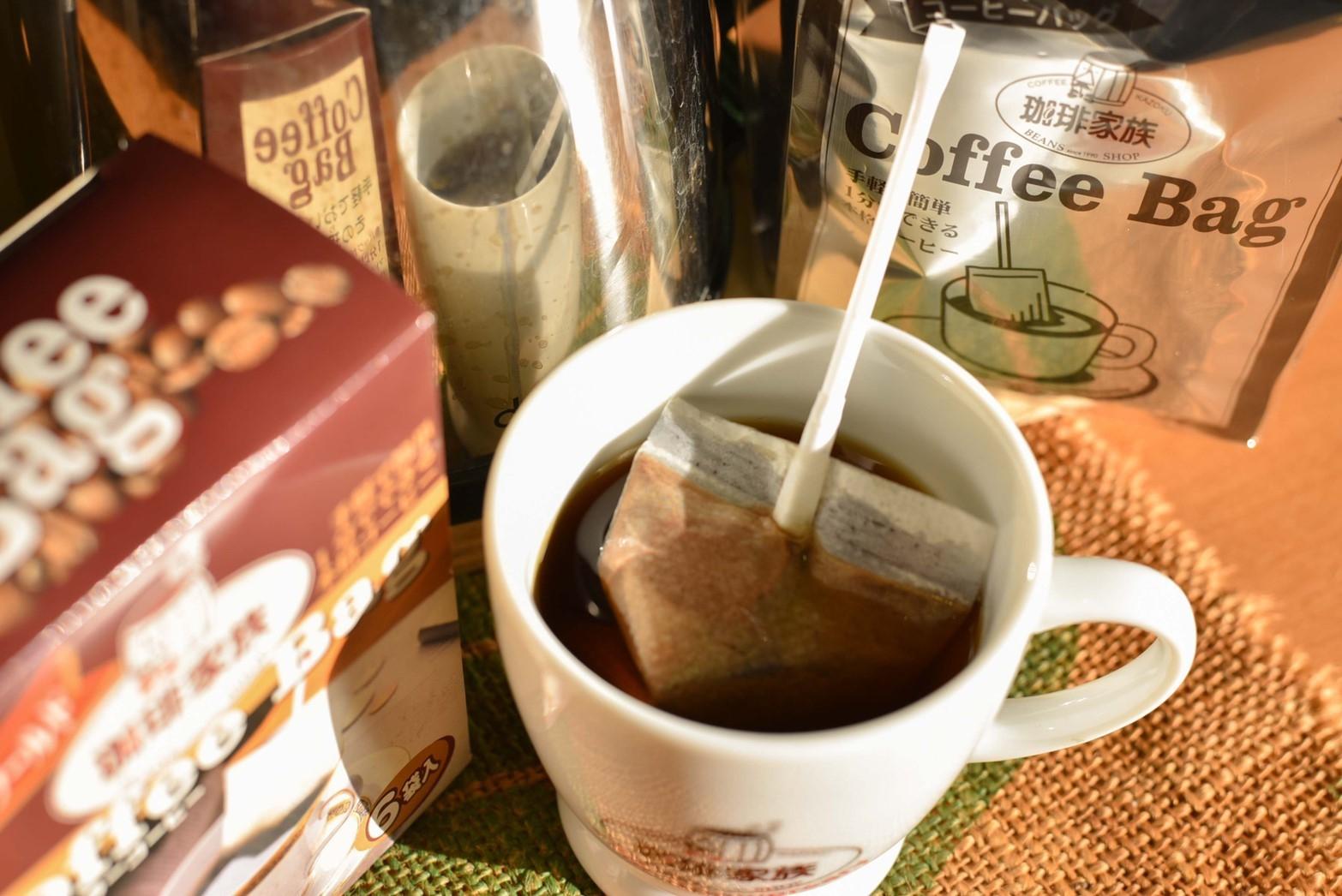 マドラー式コーヒーバッグ